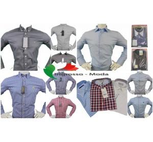 Camicie da uomo di marca fatto a mix