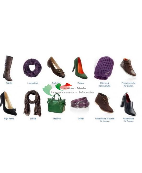 Marche tedesche mix di scarpe e accessori