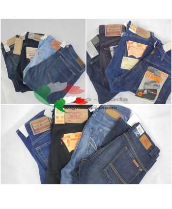 Pantaloni/Jeans di marca mix - tra cui Diesel Levis Pepe Jeans G-Star PME