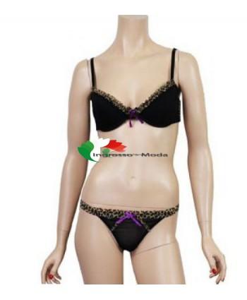 Jolie Lingerie Set biancheria intima nero