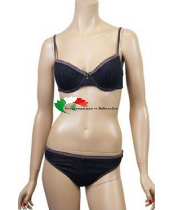 Jolie Lingerie Set  biancheria intima in blue