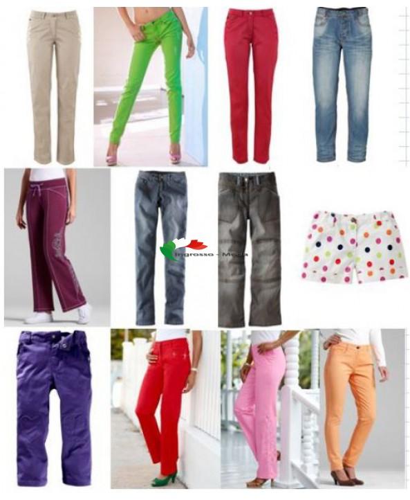 marche spagnole e tedesche di  pantaloni per donne