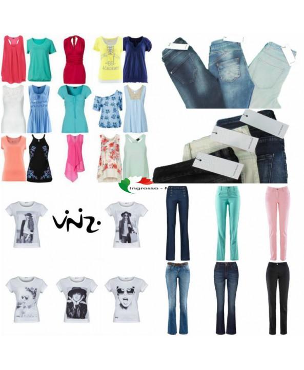 Marchi di abbigliamento Mix - Vero Moda, Vinizi, Tom Tailor, S.Oliver, Tamaris, Spedizione
