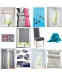 Tessuti per la casa Mix - tende, tappeti, biancheria da letto, tappeto, tenda della doccia, ecc