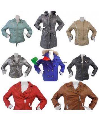 Donna giacche diverse versioni autunno inverno