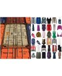 Palleti Contenitore abbigliamento Tessile Scarpe Stocklots