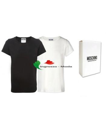 Moschino T-shirt uomo mescolano nero