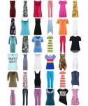 Abbigliamento Stocklots donne di estate - Camicie Tops Abiti Pantaloni Tuniche