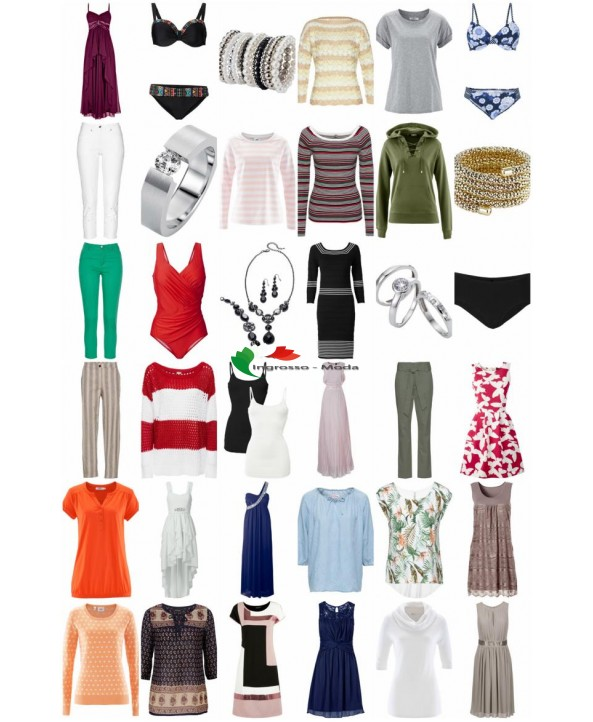 Liquidazione Abbigliamento Abbigliamento Calzature speciali Accessori Mix