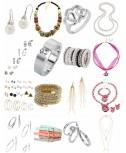 Accessori Mix - Bracciale catena orecchini cinture anelli