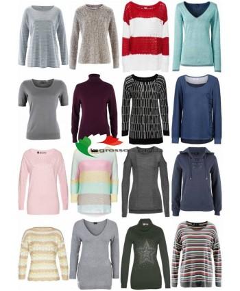 Mix di abbigliamento invernale di autunno delle donne - maglione del pullover magliette a maniche lu
