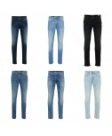 Blend Mescola i pantaloni dei jeans degli uomini mescolare i resti