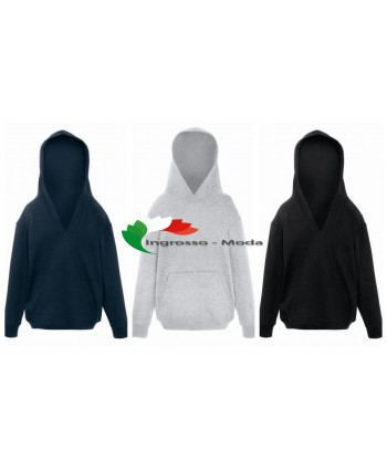 Fruit of the Loom Bambini Hoodie Uni Hoodies Pullover Sweater Mix