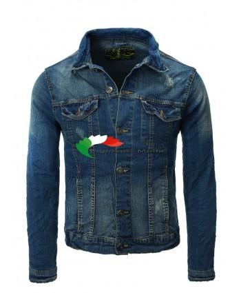 Giacca uomo denim EIGHT2NINE marchio denim giacca denim