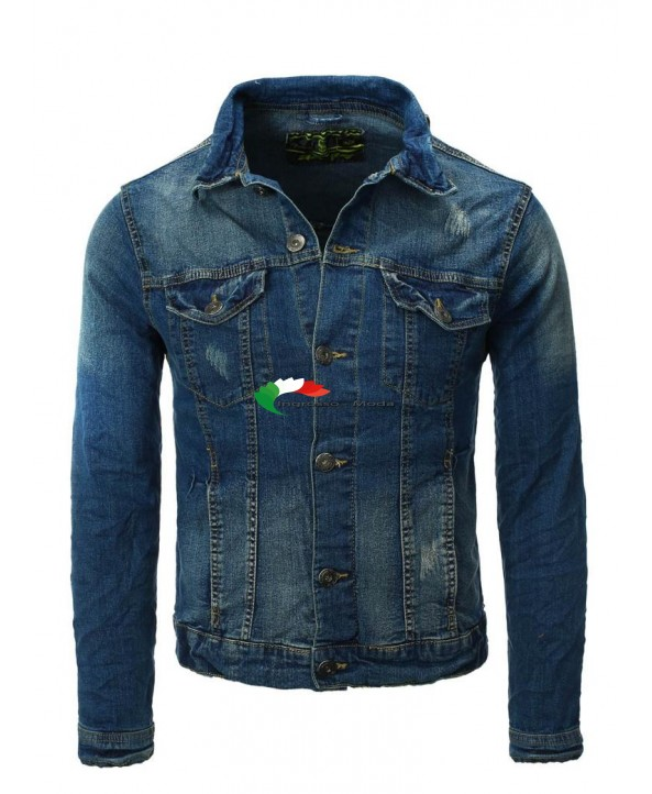 denim EIGHT2NINE denim marchio giacca Giacca denim uomo q6fwRnxECY