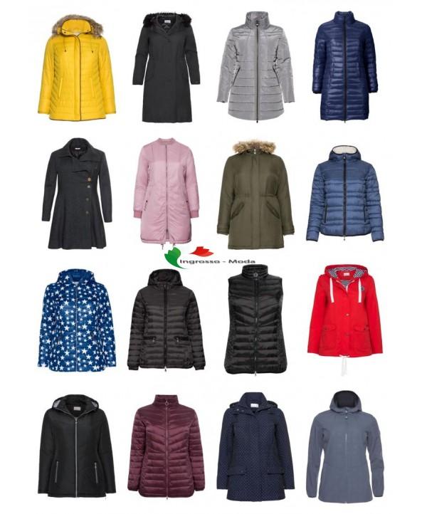 Ladies Plus Size Fashion Plus Size Giacche Blazer Cappotto Grandi dimensioni Mix residuo