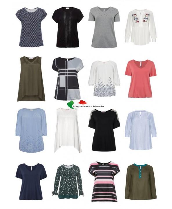Abbigliamento donna Taglie forti T-shirt Tops Camicette Taglie forti Mix di articoli rimanenti