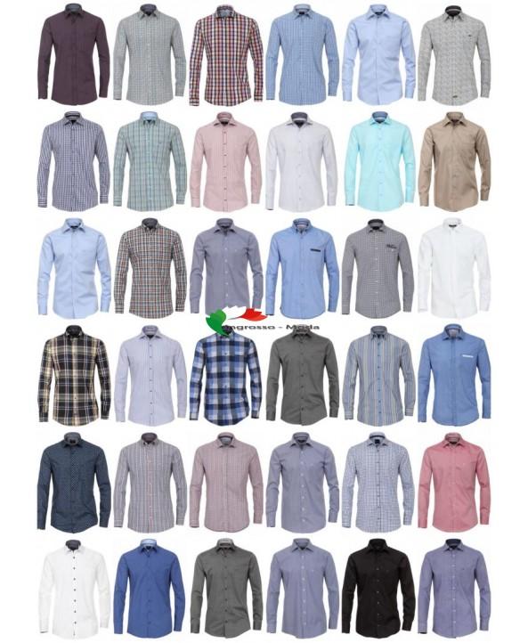 Camicie per uomo Marche Camicia manica lunga Business Casual Mix