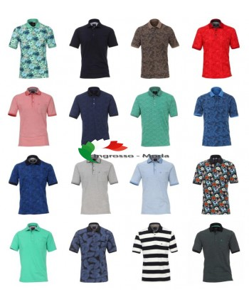 Mix manica corta da uomo di marca Polo Top