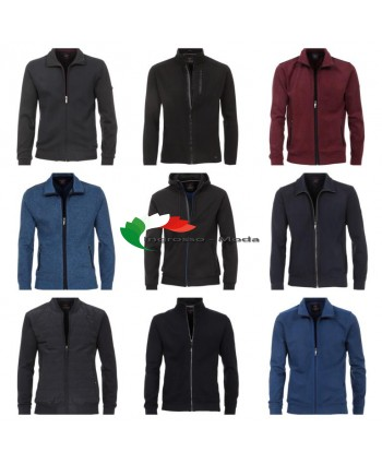 Sweatjackets Zipper di Cardigan da uomo