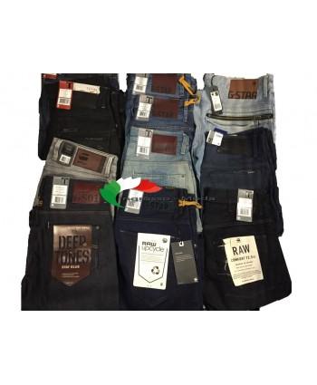 G-Star Jeans Uomo Marchi Pantaloni Brand Jeans Mix