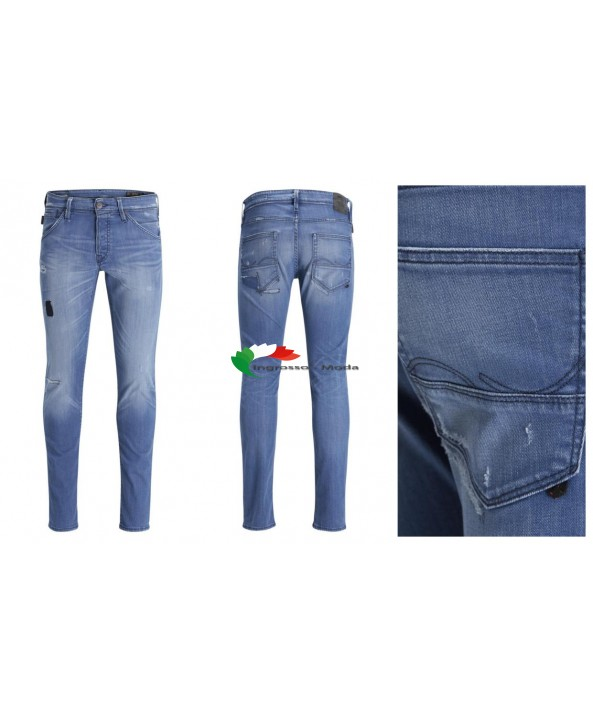 Pantaloni jeans marca Jack and Jones da uomo J & J Glenn