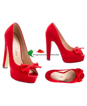 Scarpe da donna Décolleté con talloni rossi