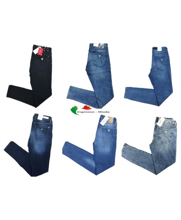 Jeans Guess Jeans Branded Pantaloni Brand Jeans Mix