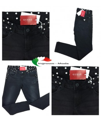 Guess Jeans Beverly Black Women Marchi Pantaloni Brand Mix