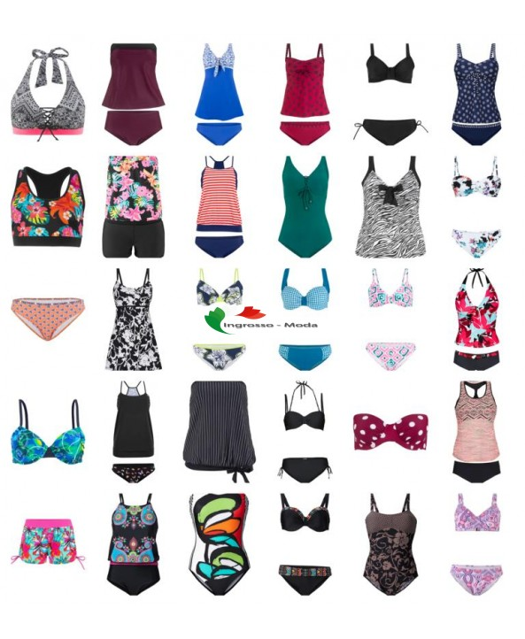 Costume da bagno da donna Tankinis Bikini Costume da bagno Beach Fashion Mix