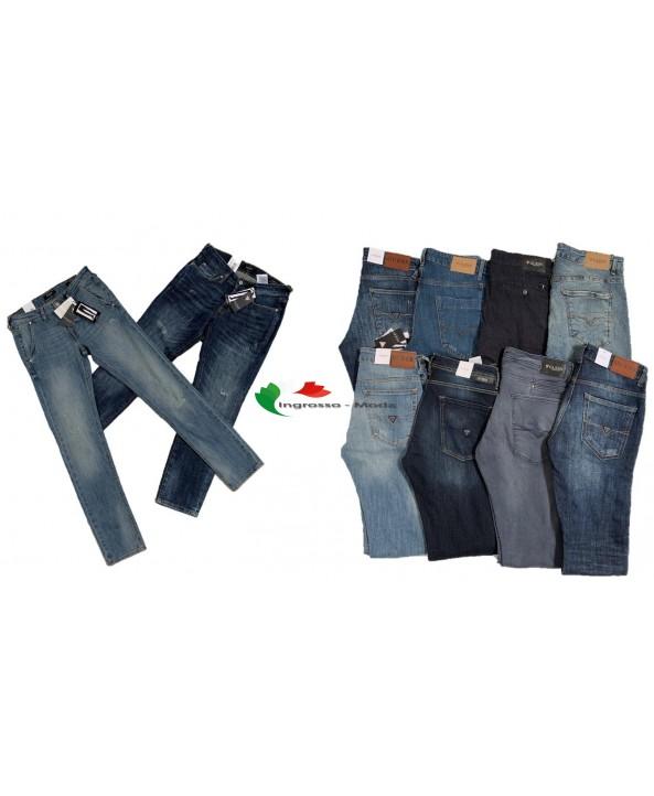 Guess Jeans Pantaloni da uomo di marca Mix di marca