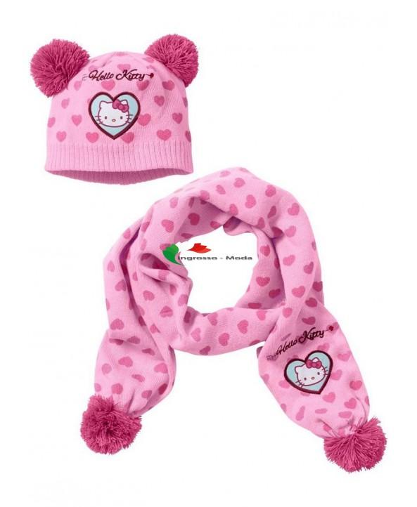 Girl Hello Kitty Scarf Hat Set Girl