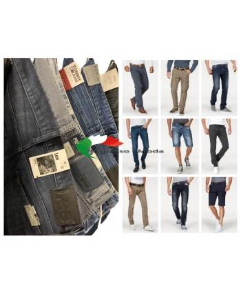 Jeans uomo Pantaloni Mix Replay Tommy Hilfiger Lee Tom Tailor ecc