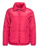 Giacca donna giacca imbottita invernale da donna rosa