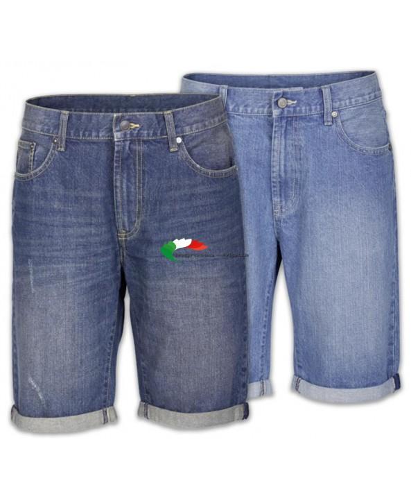 Pantaloncini da uomo Bermuda jeans