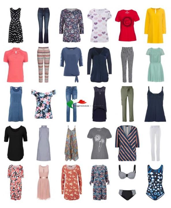 Abbigliamento donna rimanente mix di moda stock