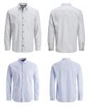 Jack & Jones camicie uomo camicia bianco blu