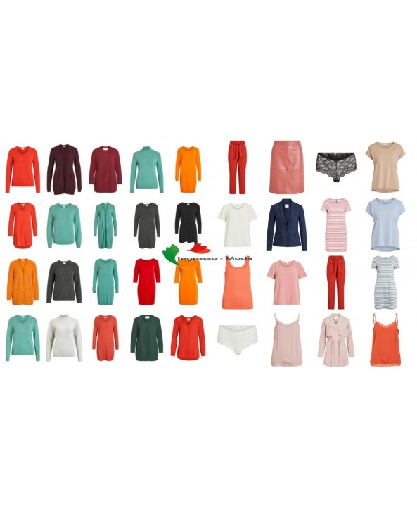 VILA Abbigliamento Moda Donna Tessuti Mix