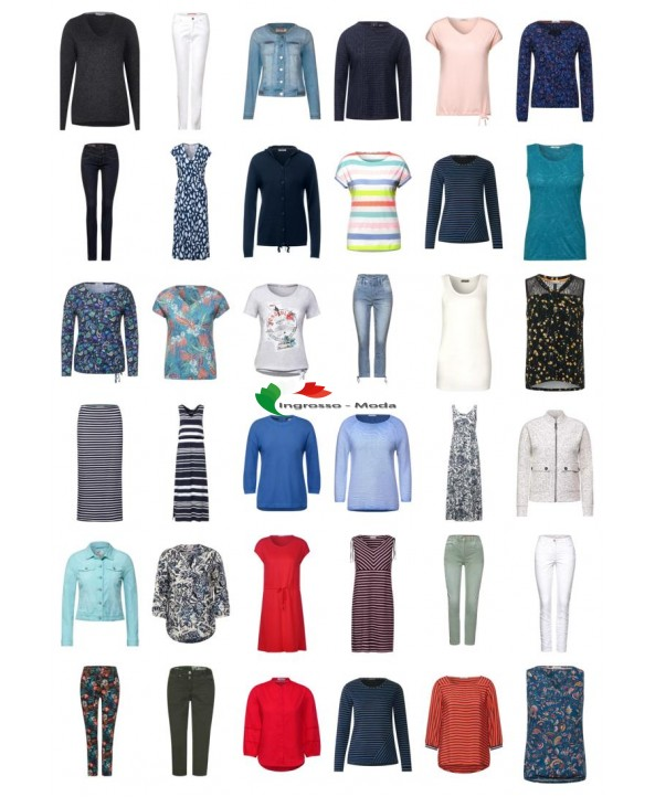 Cecil Street One Moda Donna Abbigliamento Tessile Mix