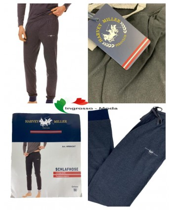 Pantaloni da jogging da uomo Harvey Miller per lallenamento del sonno