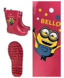 Stivali da pioggia per bambini stivali di gomma rosa per ragazze merci con licenza